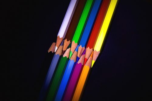 pens colored pencils colour pencils