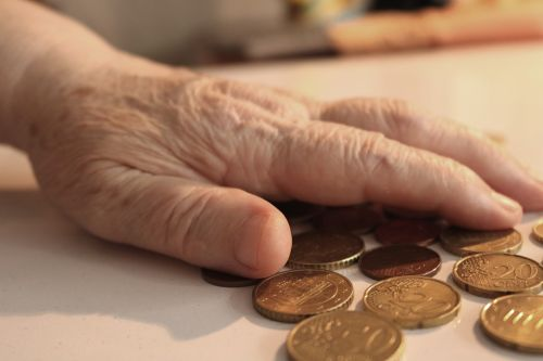 pension poverty life struggle