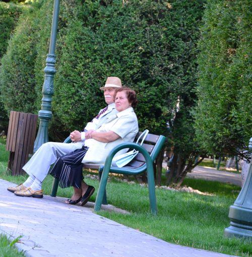 Retired In Park