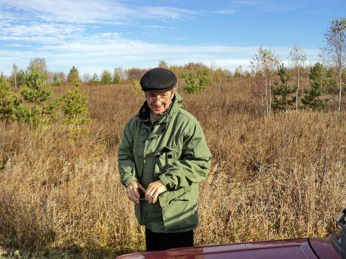 an elderly man pensioner health
