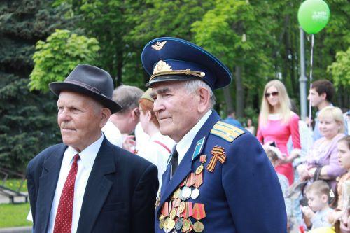 pensioner old age summer