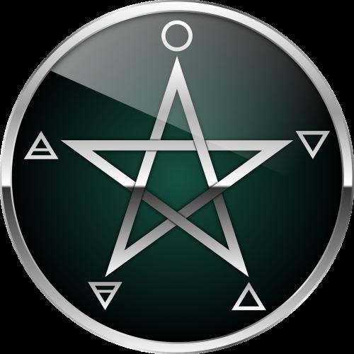 pentacle pentagram wicca