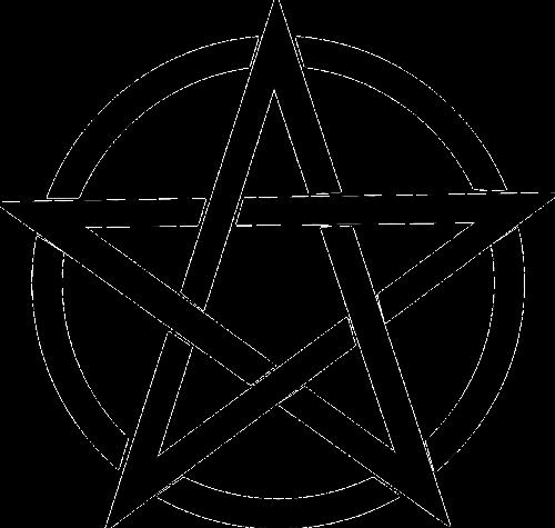 pentagram black magic
