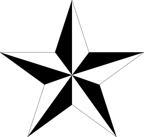 pentagram polygon shape