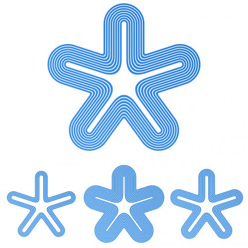 pentagram logo star