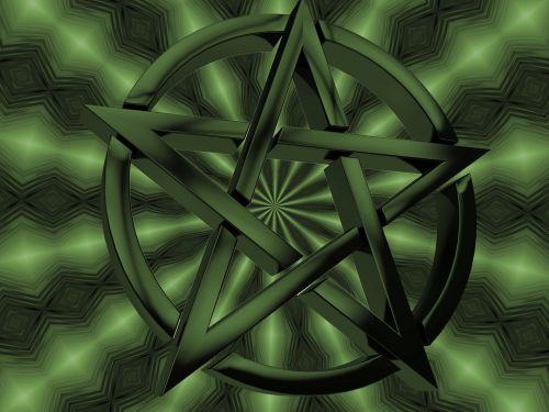Pentagram Green