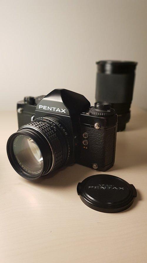 pentax  reflex camera  camera