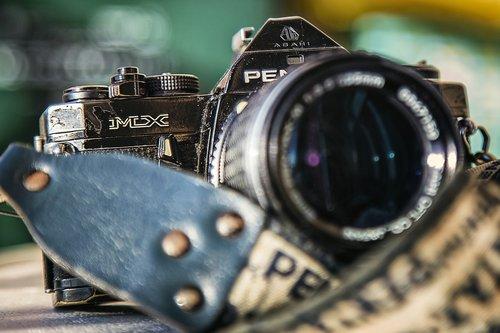 pentax  machine ftografica  old