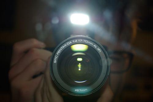 pentax k200d camera mirror