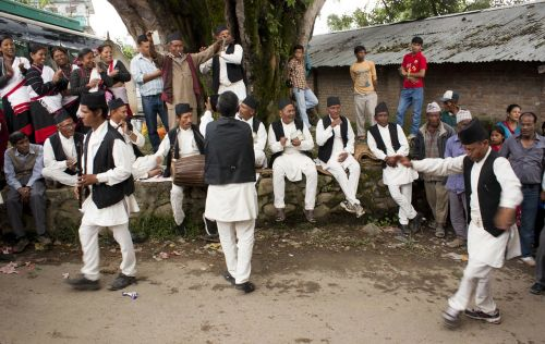 people folk dance newari culture