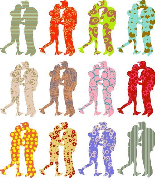 people couple love
