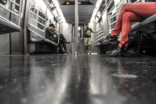 people public transportation underground