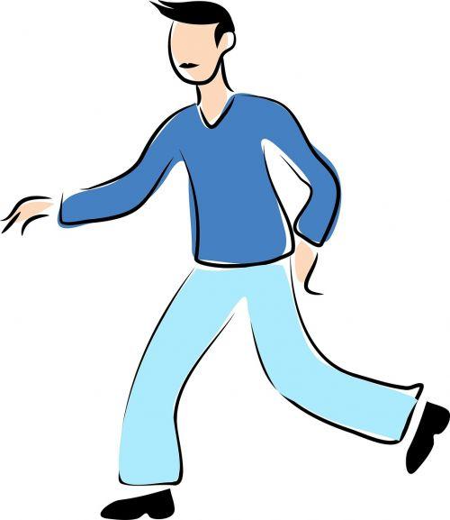 žmonės,vyras,vyrai,Patinas,suaugęs,asmuo,kaukazo,linijos brėžinys,eskizas,doodle,vaikščioti,vaikščioti,mėlynas
