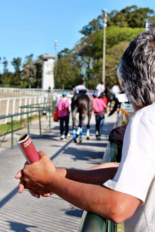 people racetrack horse racing