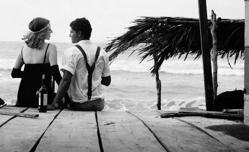 people beach love