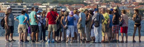 people tourism colorful