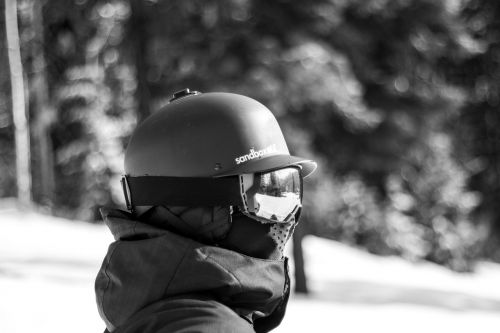 people man helmet