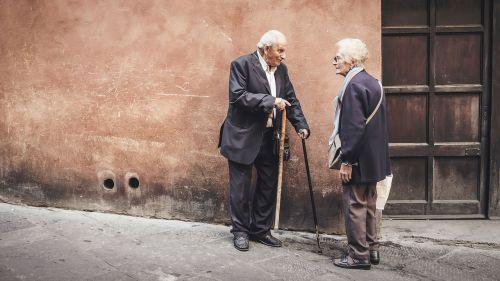 people old elderly