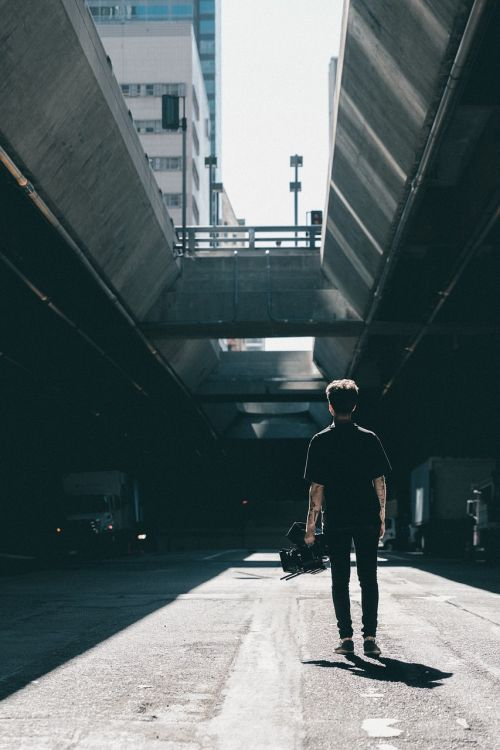 people man shadow