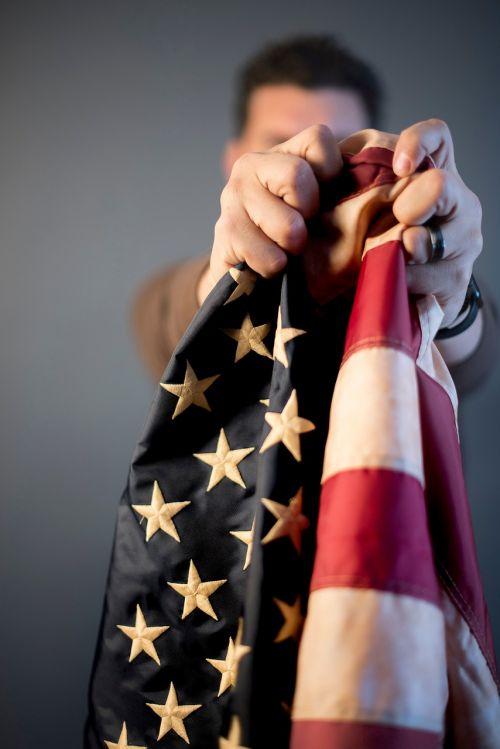 people man flag