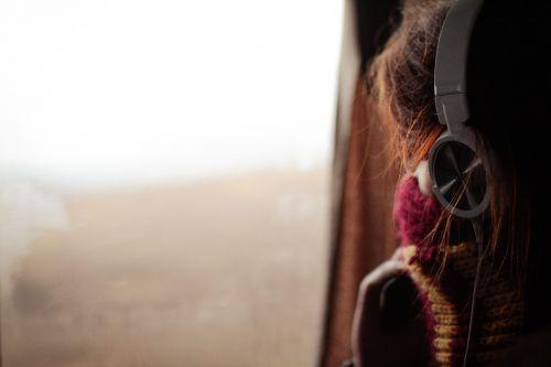people girl headset