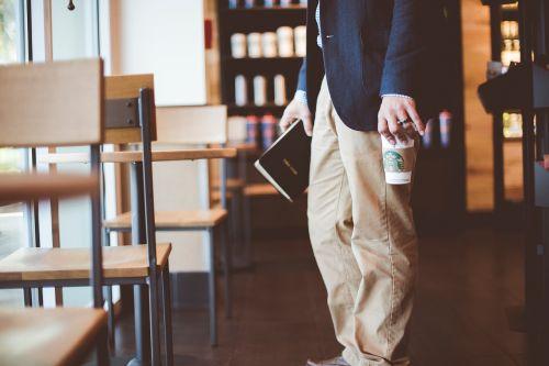 people alone coffeehouse