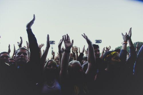 people men women crowd