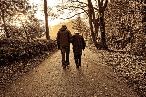 people couple elderly