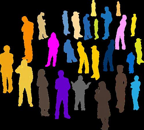 people crowd individuals