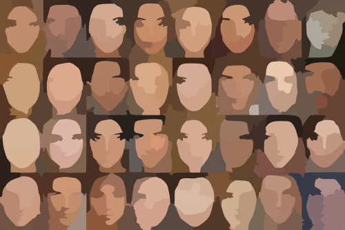 people character faces