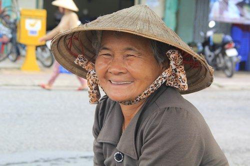 people  vietnamese  woman