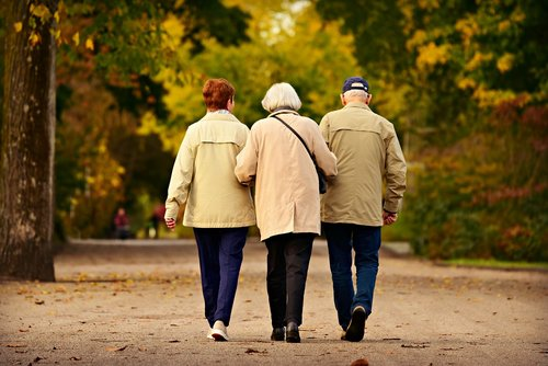 people  three  elderly