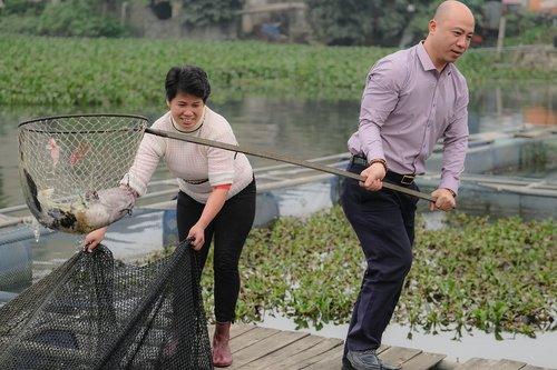 people  fishing  fish