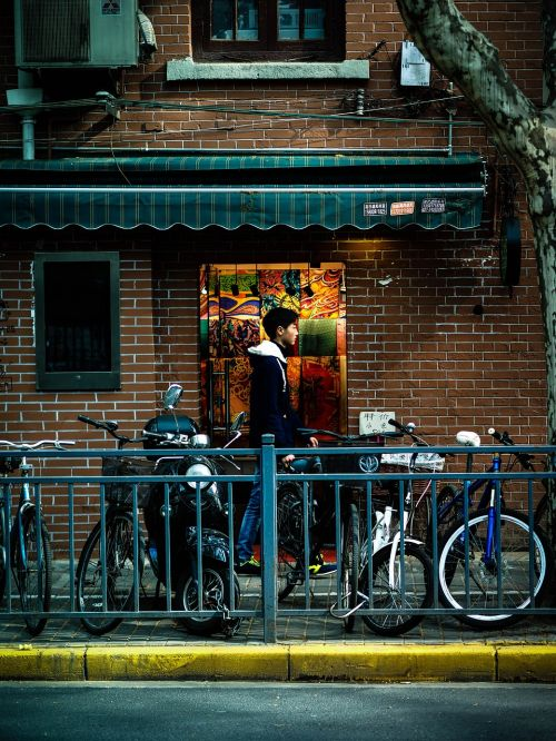 people's republic of china shanghai alley