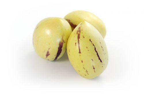 pepino pepinofrüchte melon pear