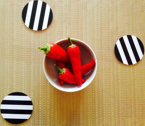 pepper stripes food