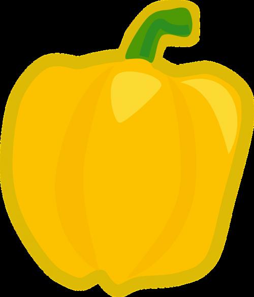pepper yellow vegetable