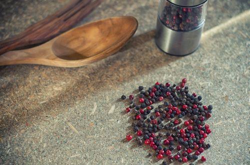 pepper spices peppercorns