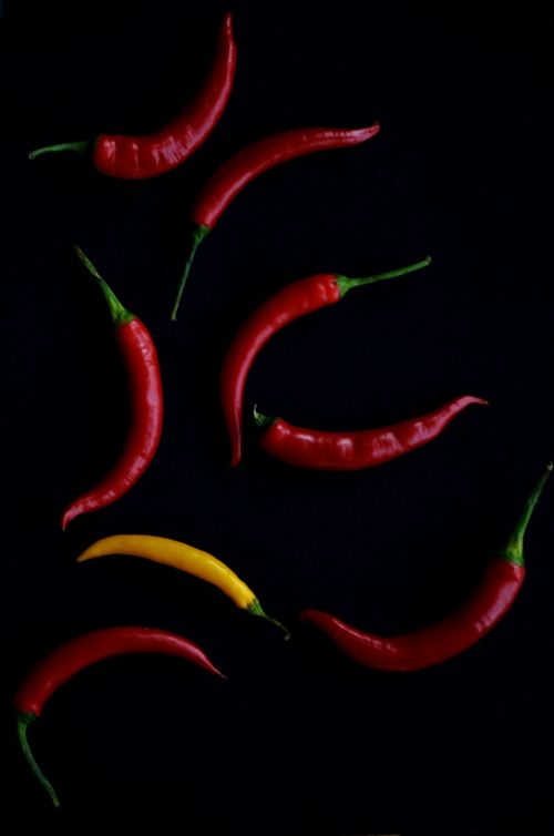 pepper hot spicy