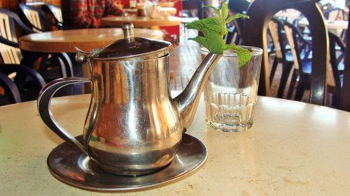 peppermint tee teapot