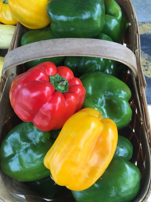peppers green pepper red pepper