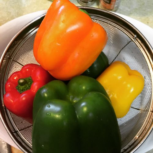peppers green yellow