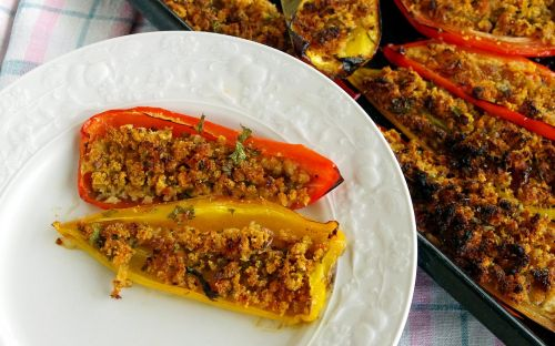 peppers stuffed peppers contour