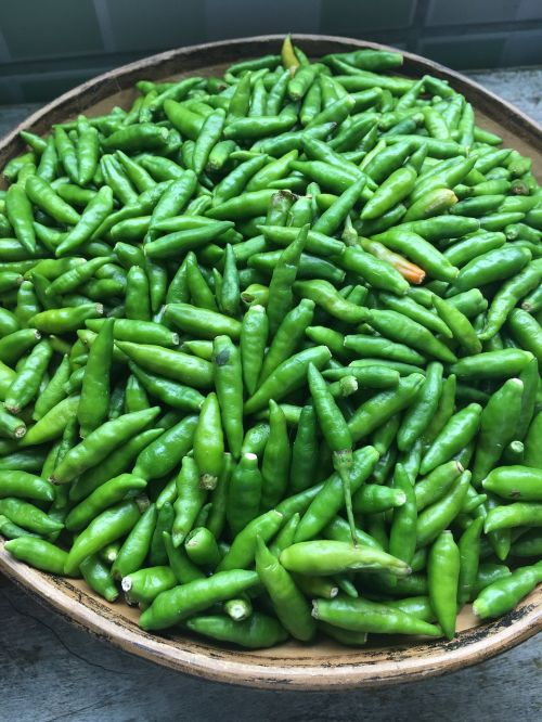 peppers green aroma