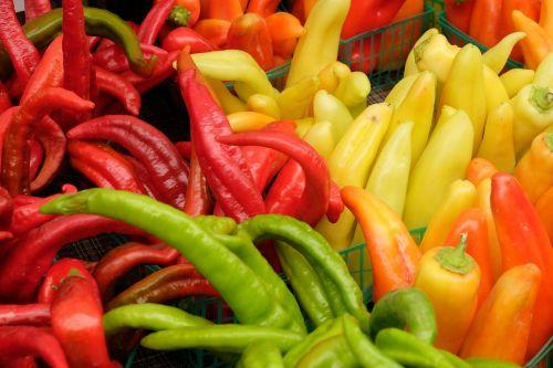 peppers veggies veg