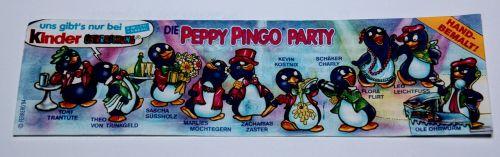peppy pingo party 1994 überraschungseifiguren