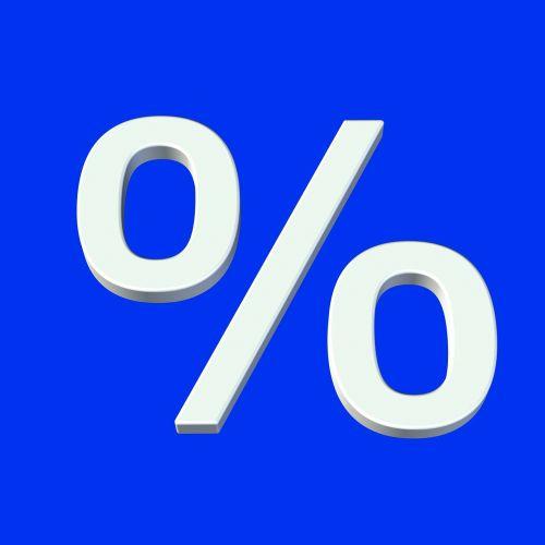 percent symbol icon