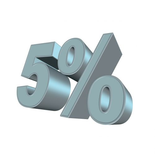 percent five 3d