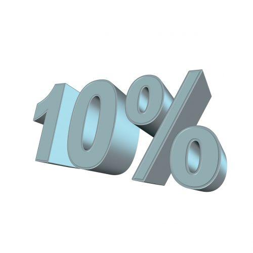 percent ten 3d