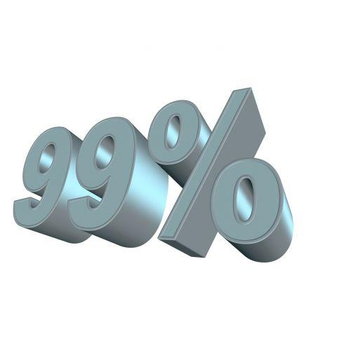 percent neunundneuzig 3d